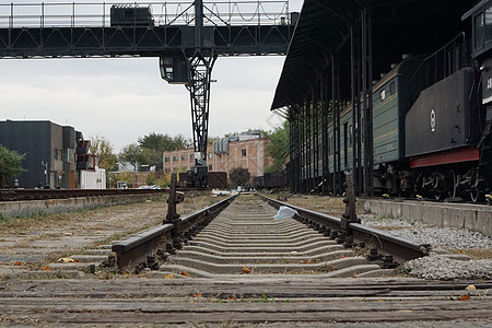 火车铁轨图片