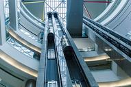 上海机场设施直梯图片