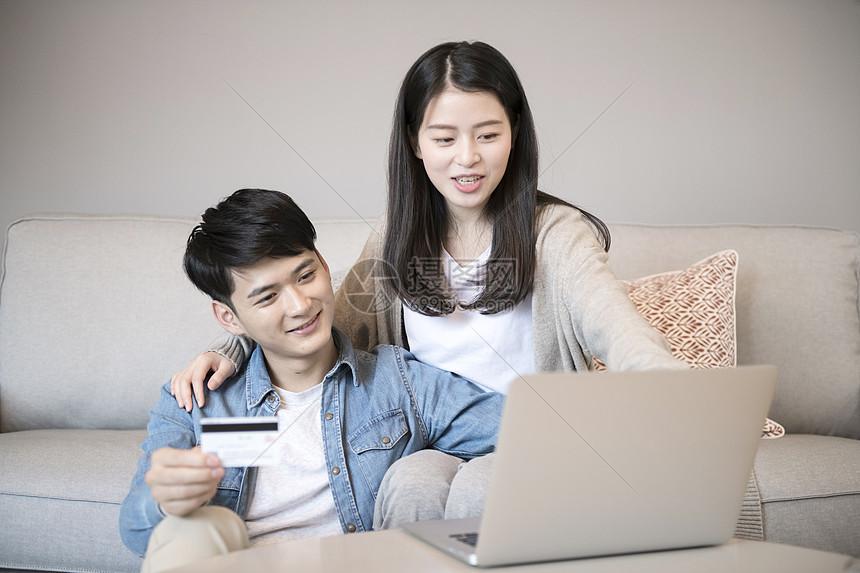 夫妻网络购物图片