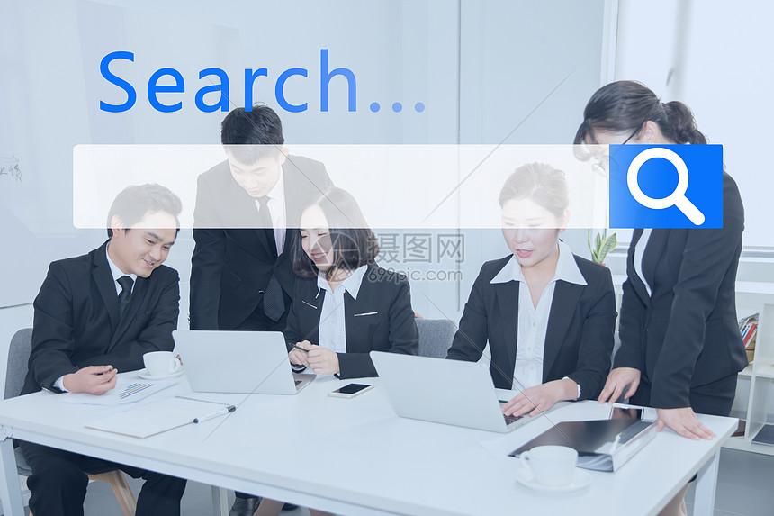 商务创意SEO图片