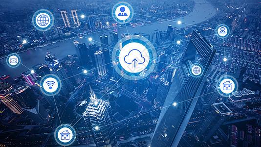 云科技城市图片