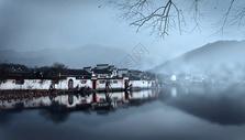 水墨宏村图片