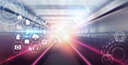 科技信息背景图片