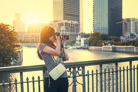 都市美女爱摄影图片