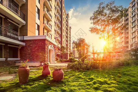 花园公寓图片