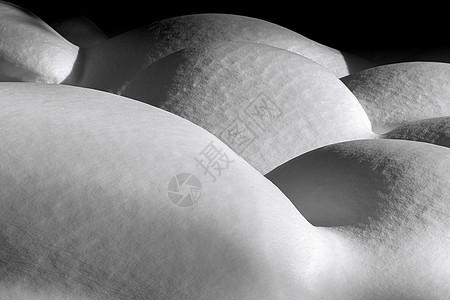 雪球人体图片