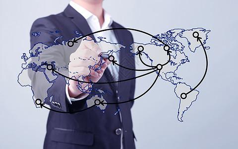 标记交通运输地图商务男士图片