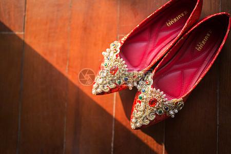 新娘的婚鞋图片