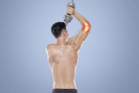 运动关节疼痛图片