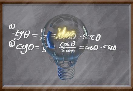 创意思考教育背景图图片