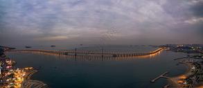 现代城市大连星海湾大桥图片