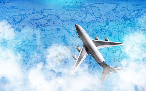 航空业图片