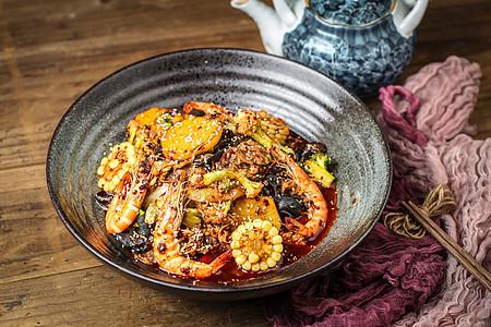 中餐美味麻辣香锅图片