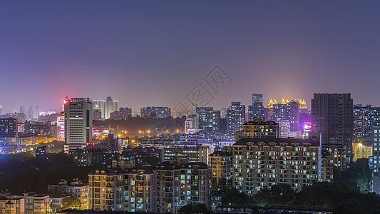 武汉城市建筑风光夜景图片