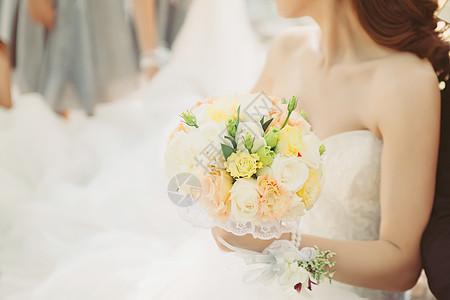 新娘与伴娘们图片
