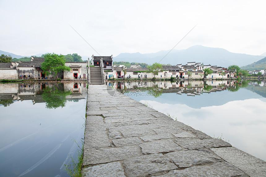安徽宏村风景图片素材_免费下载_jpg图片格式_vrf高清