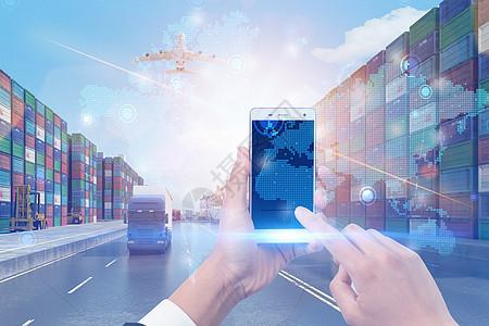 运输贸易网络化图片