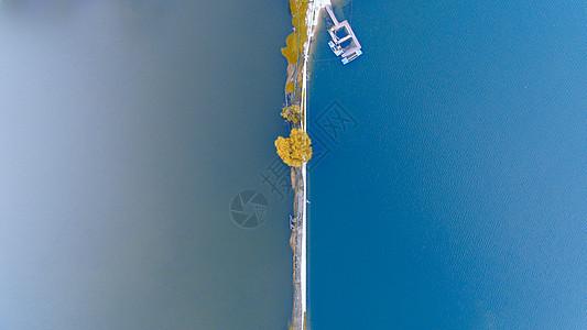 航拍千岛湖图片