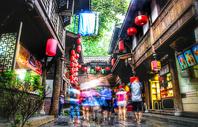 四川成都锦里街景图片