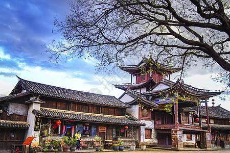 云南大理沙溪古镇图片