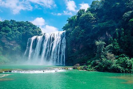 贵州黄果树瀑布风光美景图片