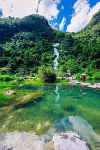 贵州旅游荔波小七孔景区风景图片