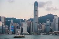 香港维多利亚港风景图片