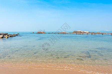 海南三亚天涯海角海滨风景图片