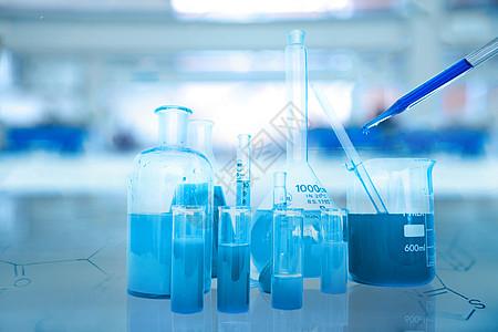 科学实验室背景图片