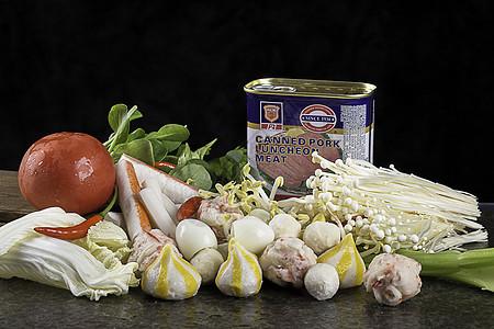 火锅食材蔬菜图片