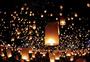 泰国水灯节图片