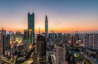 深圳城市建筑风光夜景图片