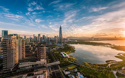 深圳后海美景图片