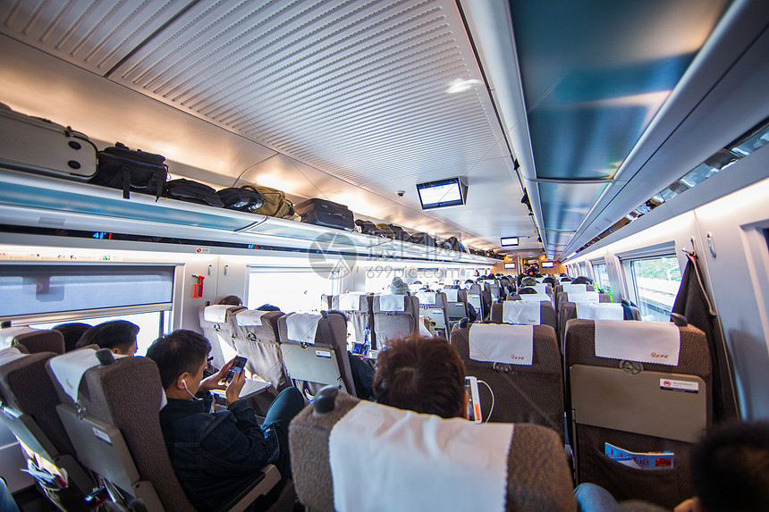 高铁车厢图片