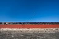 北京古建筑宫墙图片