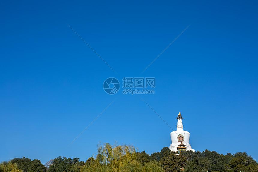 北京地标北海公园