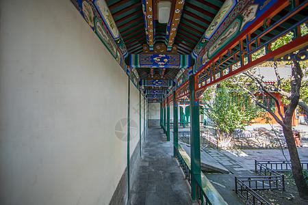 北京北海公园景色图片
