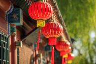 春节过年挂灯笼500713714图片