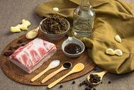 梅干菜扣肉食材图图片