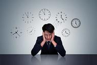 职场压力概念图图片