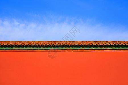 中国风极简城墙图片
