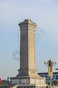 北京人民英雄纪念碑图片