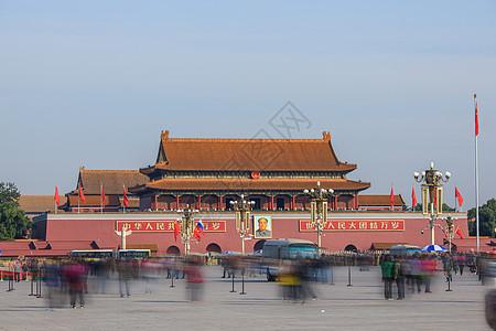 北京的天安门广场图片