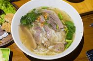 越南美食牛肉米粉图片