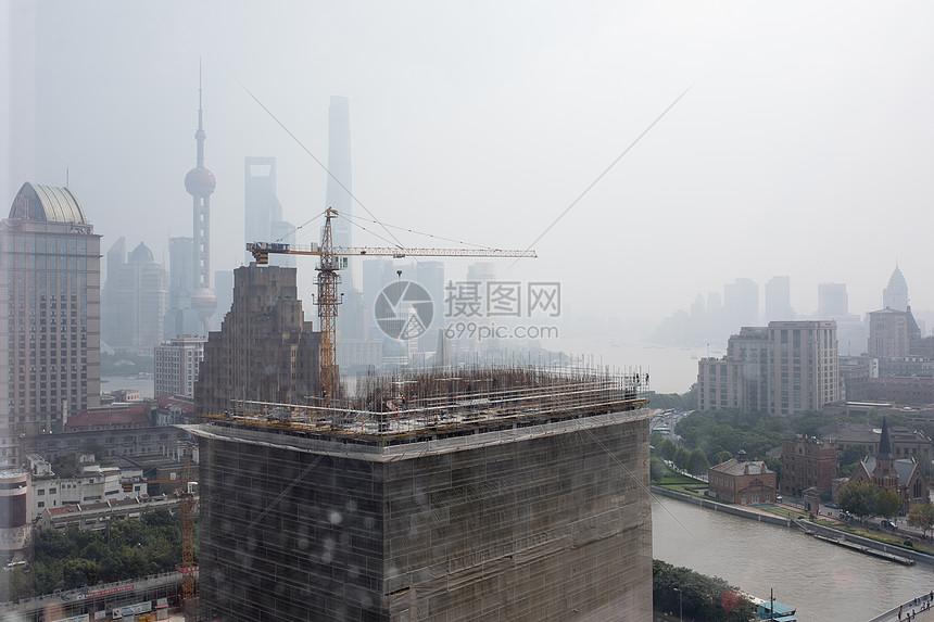 发展建设中的上海图片