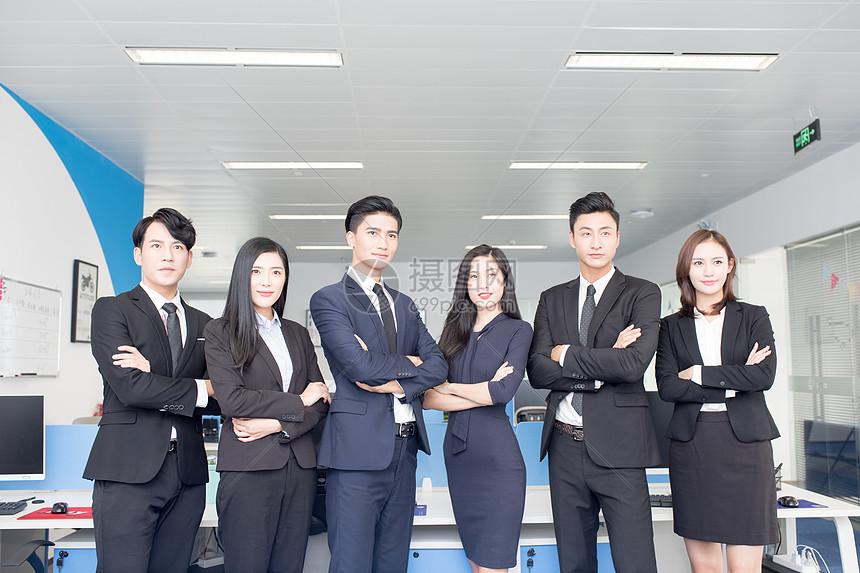 商务团队企业形象图片