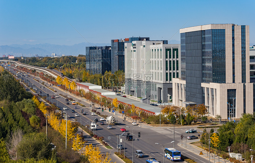 城市道路交通图片