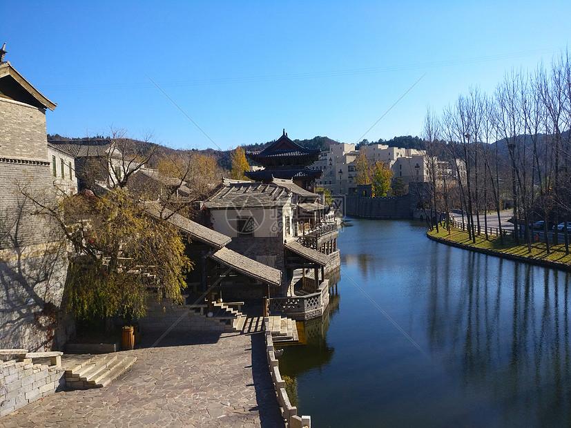 塞外江南古北水镇图片