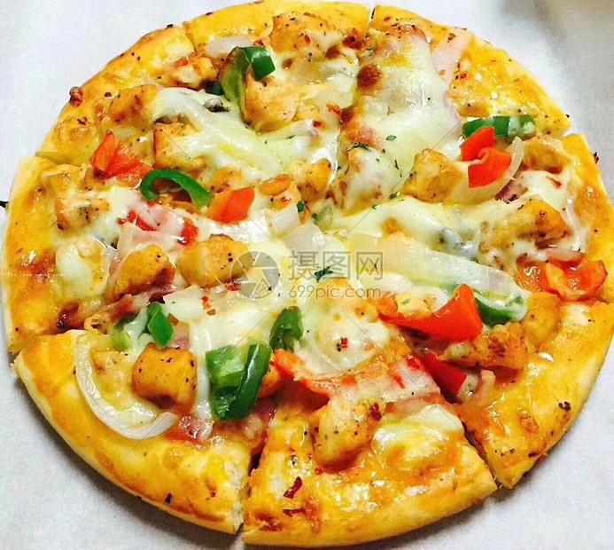 美味披萨图片
