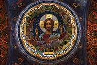 圣彼得堡滴血大教堂壁画图片